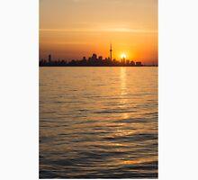 Toronto Skyline - Greeting a Brilliant Summer Sunrise Unisex T-Shirt