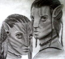 Avatar - Jake and Neytiri by SoCold