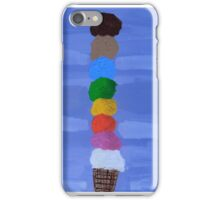 'The Ice Cream Tower' by Bridget Sinnamon (2014) iPhone Case/Skin