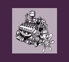 Lincoln Zephyr V12 Engine Unisex T-Shirt