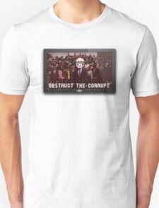 KAIZO MINDS - OBSTRUCT THE CORRUPT T-Shirt