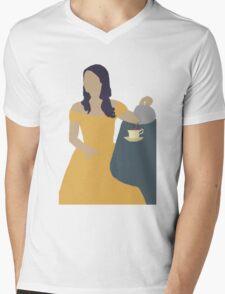 Belle Once Upon A Time Mens V-Neck T-Shirt