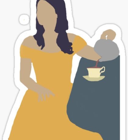 Belle Once Upon A Time Sticker