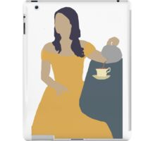 Belle Once Upon A Time iPad Case/Skin