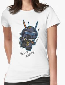 Chappie t shirt, iphone case & more Womens Fitted T-Shirt
