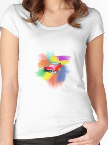 Cadillac Baby Women's Fitted Scoop T-Shirt