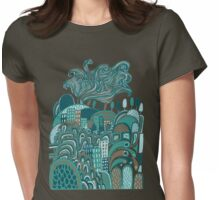 Town and Country Womens Fitted T-Shirt