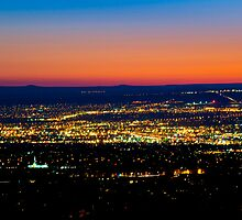 Albuquerque Sunset - Print by Mark Podger
