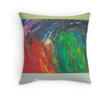 Colorland Throw Pillow