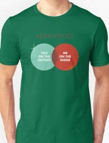 Advantages to both - Disco Ball Variant T-Shirt