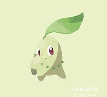 Chikorita Low Poly by meowzilla