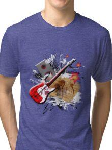 Rock Guitar Tri-blend T-Shirt