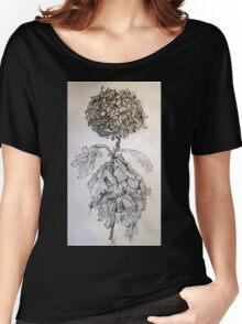 Chrysanthemum after Piet Mondrian Women's Relaxed Fit T-Shirt