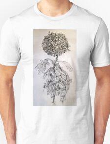 Chrysanthemum after Piet Mondrian T-Shirt