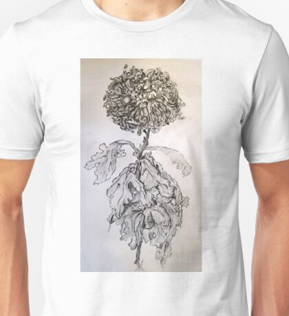 Chrysanthemum after Piet Mondrian Unisex T-Shirt