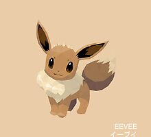 Eevee Low Poly by meowzilla