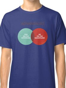 Advantages to both - Disco Ball/Lyric Variant Classic T-Shirt