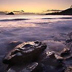 Wembury Beach at Sunset by Matt Stansfield