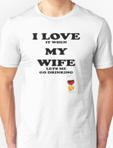 I Love My Wife Funny t shirt, iphone case & more T-Shirt