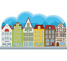 Small houses Photographic Print