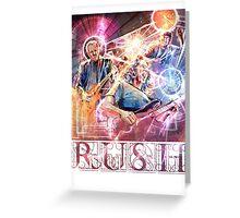 RUSH - Clockwork Angels Greeting Card