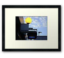 greater and lesser lights Framed Print