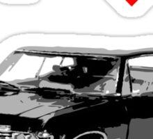 I heart Metallicar Sticker