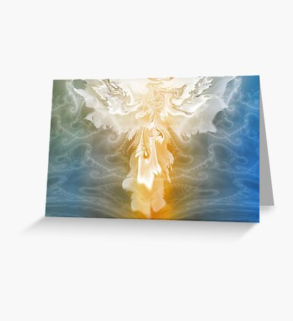 Heaven Sent Me Angels Greeting Card