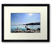Individual Contemplations Framed Print