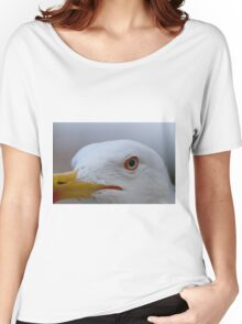 seagull posing for the photographer Women's Relaxed Fit T-Shirt