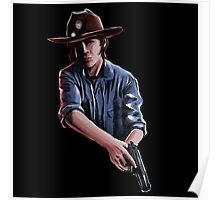 Carl Grimes - The Walking Dead Poster