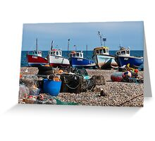 E-Numbers  ~  Beer, Devon Greeting Card