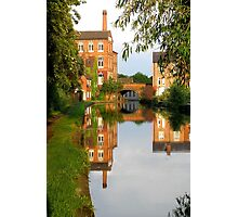 Evening View on the Canal. Photographic Print