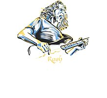 Geddy Lee From Rush Photographic Print