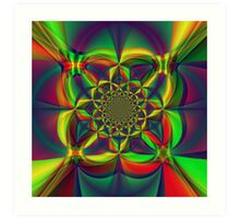 Kaliedoscope of Color Art Print