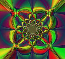 Kaliedoscope of Color by Kathleen   Sartoris