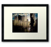 City Scape Framed Print