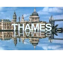 Thames Television 1970s Photographic Print