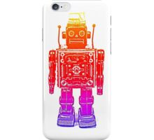 Rainbow robot iPhone Case/Skin