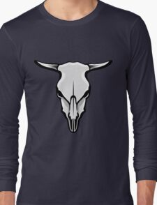 Cow's Skull Long Sleeve T-Shirt