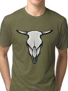 Cow's Skull Tri-blend T-Shirt