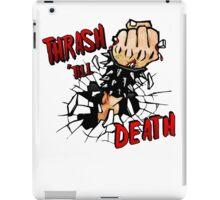 Thrash till Death iPad Case/Skin