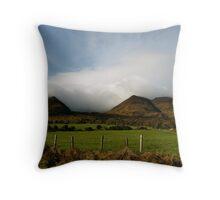 Irish Countryside Throw Pillow