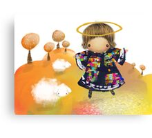 Little Angel Canvas Print