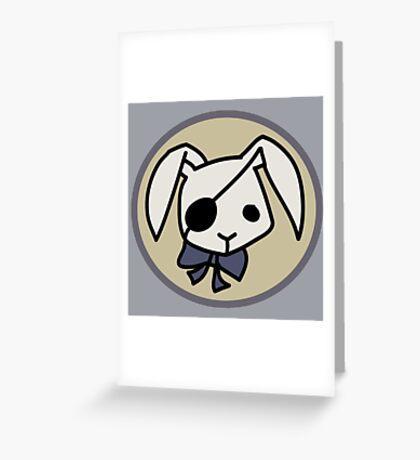 Bitter Rabbit - Black Butler Greeting Card