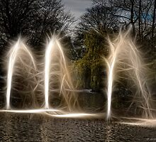 Fractal Fountains - Magic or Nightmare? by David J Knight