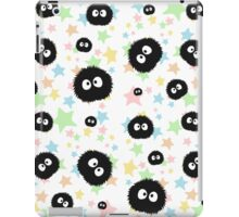 Soot Sprite with stars iPad Case/Skin