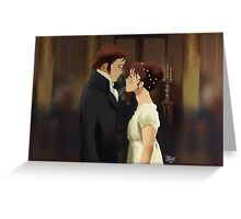 Pride & Prejudice Greeting Card