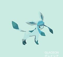 Glaceon Low Poly by meowzilla