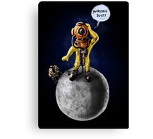 WRONG SUIT Canvas Print
